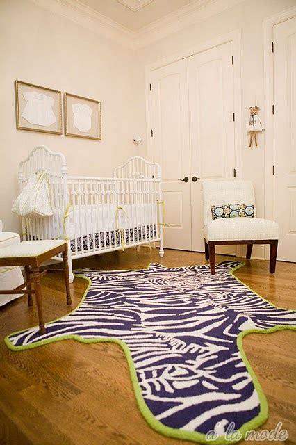 Cowhide Rug Nursery - navy zebra rug contemporary nursery sherwin williams