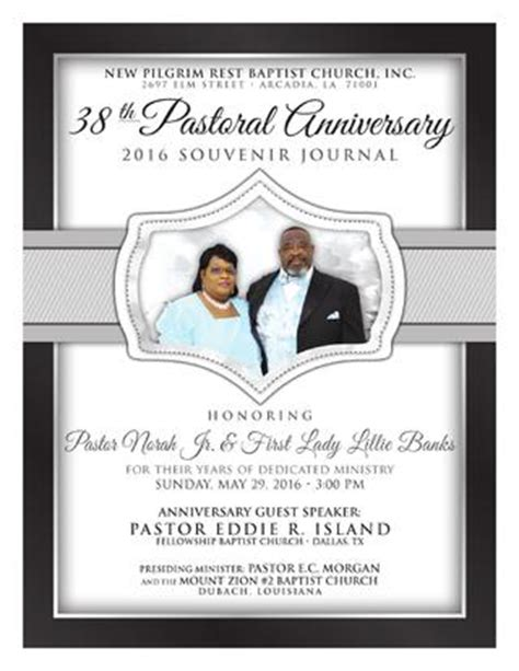 themes of the wife s story pastor norah jr first lady lillie banks 38th pastoral