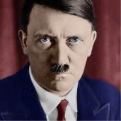 what color were hitlers color