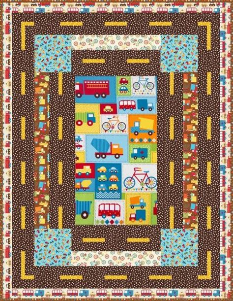 Transportation Quilt Pattern by Quot Mode Of Transportation Quot Quilt Pattern Designed By Robert