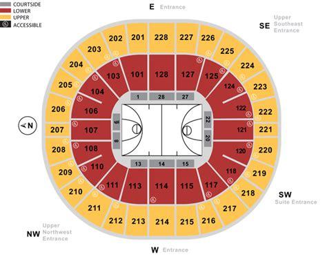 arena seating chart seating charts keyarena