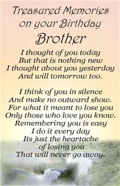 Birthday Quotes For Those Who Away Happy Birthday Quotes For Brother Who Passed Away Image