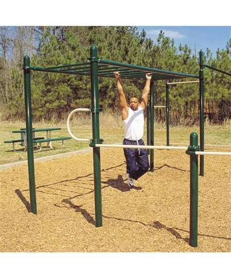 backyard gym equipment more outdoor gym equipment home gym pinterest
