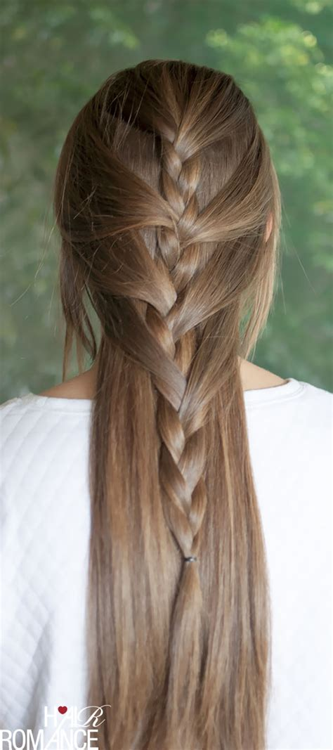 30 braids and braided hairstyles to try this summer swept away try this sweeping half french braid tutorial