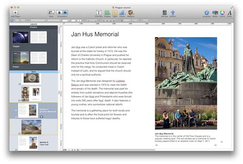 Novel Outline Software Mac by Creating Photo Books In Ibooks Author For Ipads