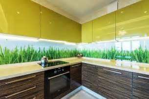 Kitchen Glass Splashback Ideas lime green glass splashbacks for kitchens and bathrooms