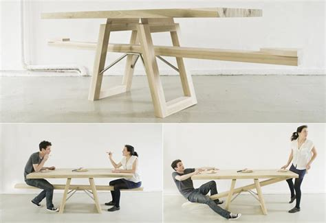 see saw bench see saw table helps diners stay focused a a perth