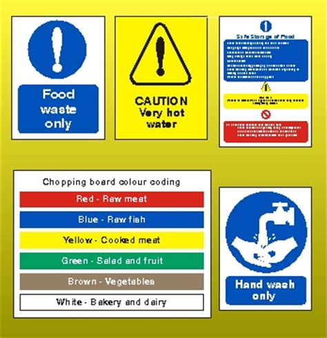 Magnet For Kitchen Knives health amp safety signs amp posters health and safety