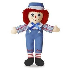 Rag doll soft stuffed animal toy aurora raggedy anne classic dolls