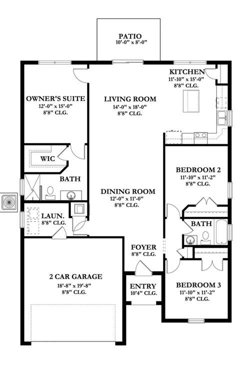 house plan 45 8 62 4 mediterranean style house plan 3 beds 2 baths 1612 sq ft