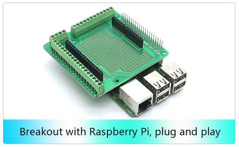 Raspberry Pi 20pin Connector Prototype Board Add On V20 raspberry pi 20pin connector prototype board add on v2 0 11street malaysia other