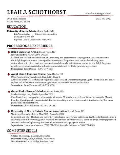 Traditional Resume by Traditional Resume Exles Resume Ideas