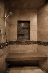 mountain home shower rustic bathroom denver by yk