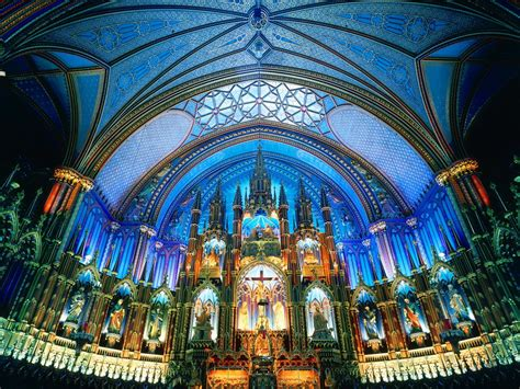 of notre dame colors blue cathedral notre dame canada architecture