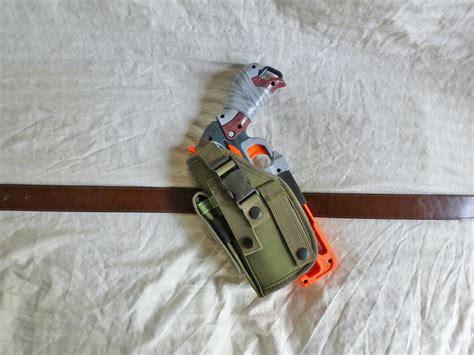 custom molle gear custom nerf gear hammershot mil spec molle holster