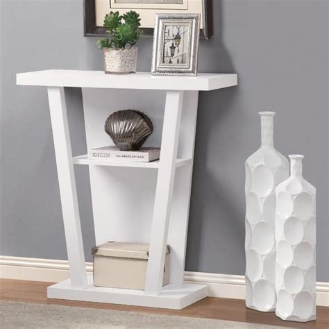 Slim Hallway Table 10 White Console Tables For The Hallways Rilane