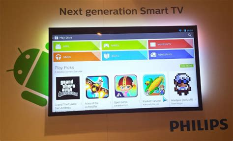 tv with android os philips boosts 2014 smart tv platform with android os