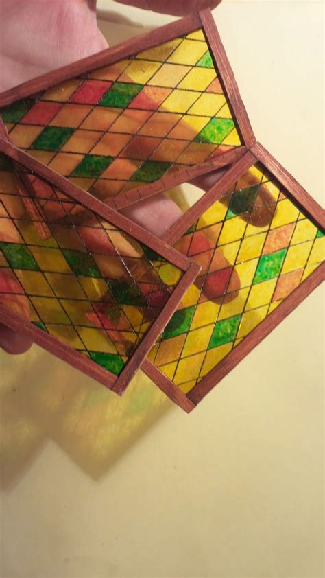 How To Miniature Stained Glass Window Tutorials