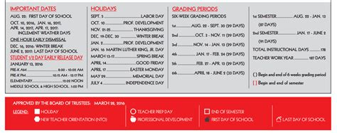 Ccisd Calendar 2016 Prescott Elementary School School District