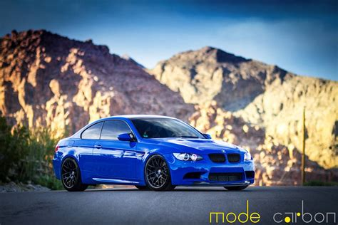 bmw supercar blue santorini blue bmw e92 m3 by mode carbon gtspirit