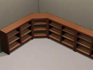 l shaped corner shelves carpentry how do i make built in bookcases for the