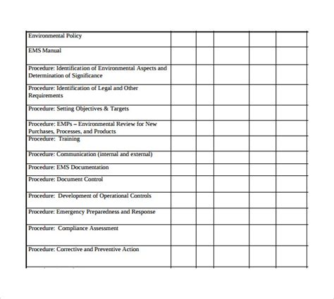 quality plan template exle sle plan templates 8 free documents in pdf
