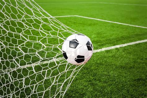 football   goal net stock photo colourbox