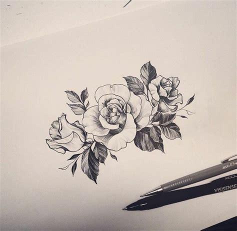 1001  idées de tatouage de fleur et quelle est sa signification   Rose tatouage, Dessin tatouage