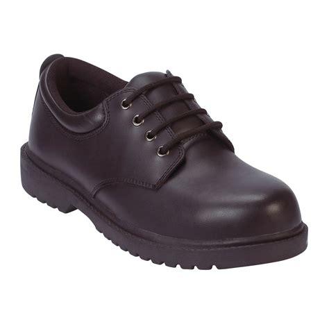safetrax shoes safetrax s kieran steel toe non skid oxford black