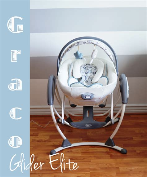 glider elite gliding swing graco glider elite swing bouncer giveaway babes and
