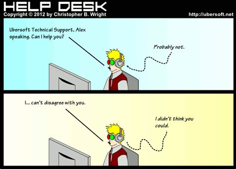 Help Desk Humor by Help Desk Quotes Quotesgram