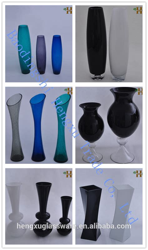 glass vase shapes and names images