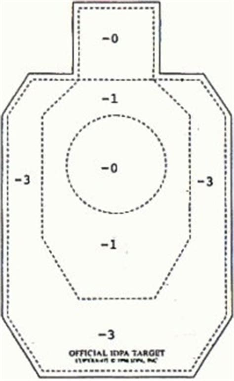printable mini idpa targets 42 best images about printable targets on pinterest