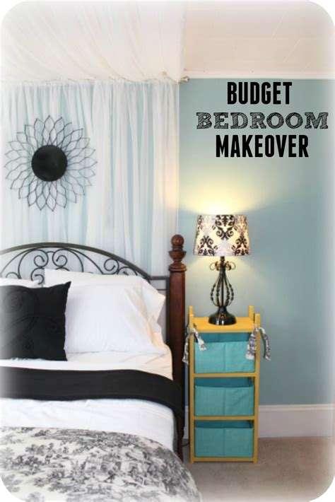 cheap bedroom makeover budget bedroom ideas