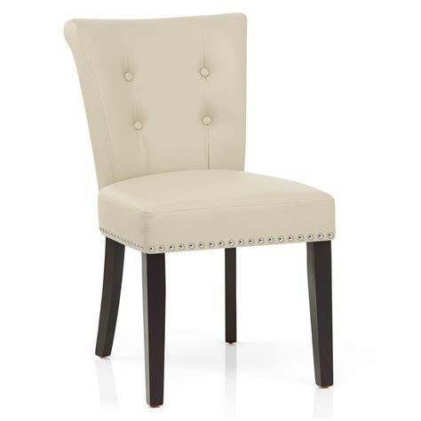 sillas comedor madera silla de comedor buckingham tapizada en cuero aut 233 ntico y