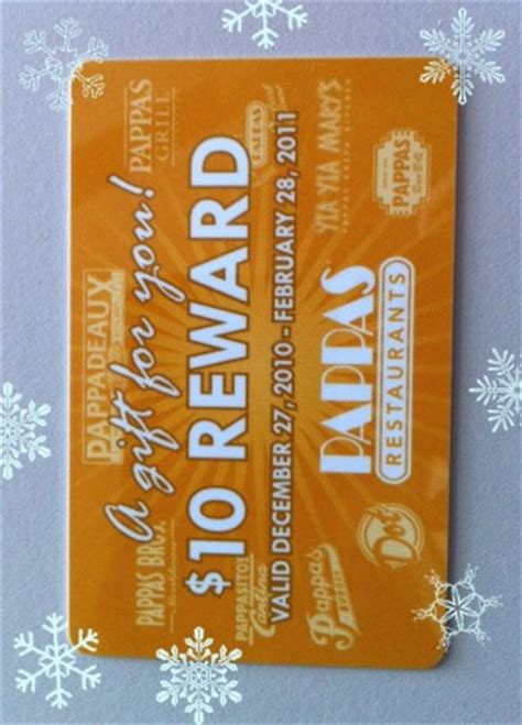 Pappadeaux Gift Card - cash in on free reward cards from spring texas restaurants spring texas real estate