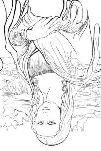 appreciating art upside down drawing