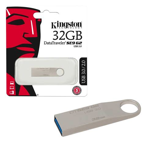 Usb Kingston 32gb new kingston data traveler se9 g2 usb 3 0 flash drive