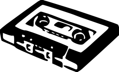 audio cassette clip art at clker com vector clip art
