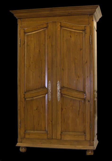 handmade arched door armoire  red leaf design llc