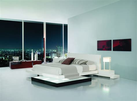 bed lights platform bed with lights galaxy contemporary style