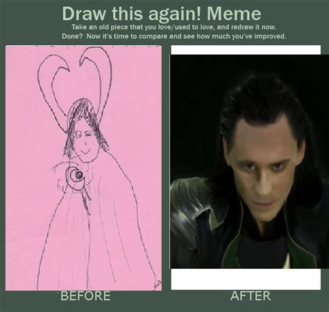 How To Draw An Owl Meme - draw this again meme loki by flying with the owls on