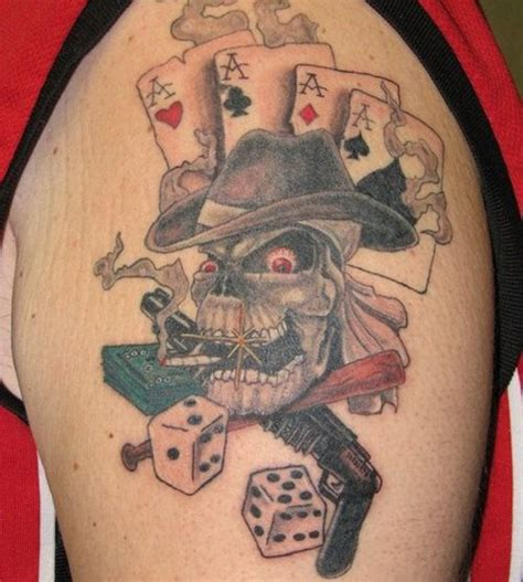 gambler tattoo designs best 25 tattoos ideas only on casino