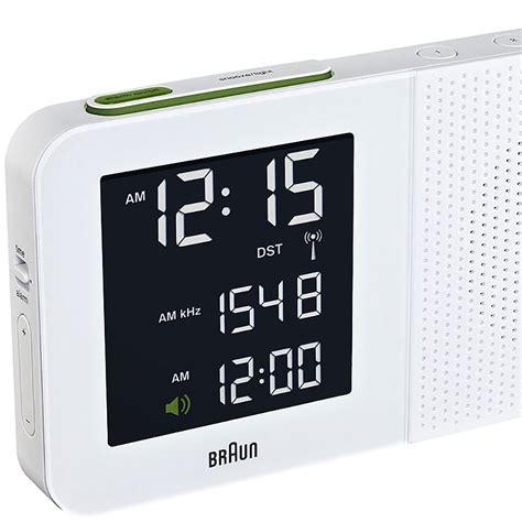 top  design braun braun radio alarm clock lt wht