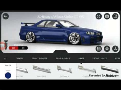 Auto Tuning 3d Software by App Vorstellung 3d Tuning Autos Tunen Mit Der App