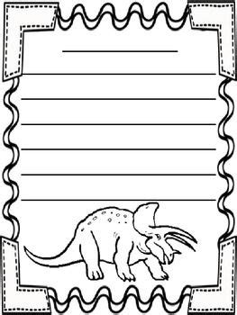 printable dinosaur writing paper free dinosaur themed writing paper jennifer knopf