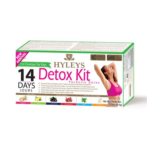 Where Can I Buy A Detox Kit by Hyleys 14 Day Detox Kit Hyleys Tea