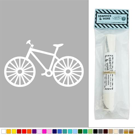 Wall Sticker Bicycle bike bicycle vinyl sticker decal wall d 233 cor