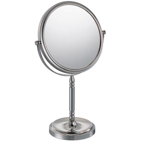 double sided bathroom mirror double sided mirror chrome in makeup mirrors