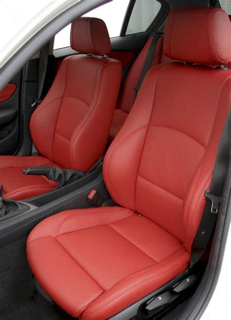 bmw leather upholstery bmw e87 sport nl dakota coral red leather trim technik